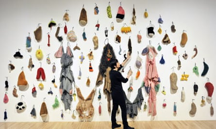 Artist Annette Messager with retrospective works, Haywood Gallery, London,Britain - 02 Mar 2009