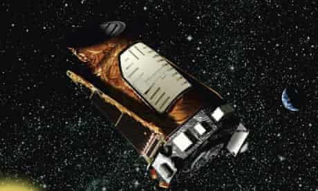 the Kepler space telescope