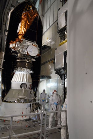 Kepler Mission:  On Launch Pad 17-B at Cape Canaveral Air Force Station