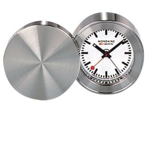 Six of the best alarm clocks life and style the guardian - Mondaine travel clock ...