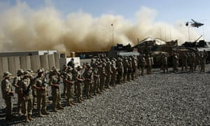 Polish soldiers in Ghazni province