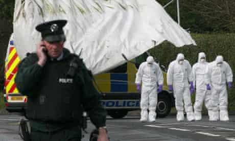 Antrim shooting terrorism Massereene barracks