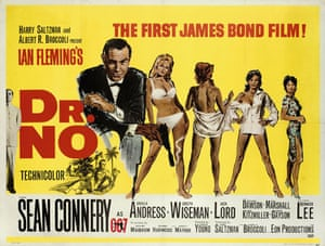 Dr No film poster