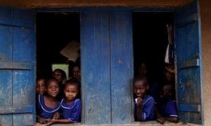 Makuyuni primary school in Tanzania