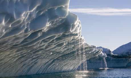 Melting icebergs, Ililussat, Greenland