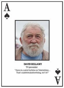 Top 10 climate change deniers: David Bellamy