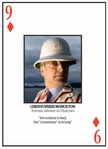 Climate change deniers: Top 10 climate change deniers: Christopher Monckton