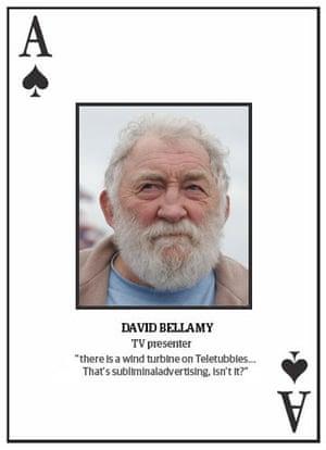 Climate change deniers: Top 10 climate change deniers: David Bellamy