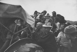 Tibetan uprising: 1 May 1959: Tibetan refugees at Missamari Camp