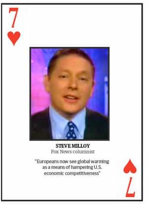 Climate change deniers: Top 10 climate change deniers: Steve Milloy