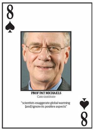 Climate change deniers: Top 10 climate change deniers: Prof Pat Michaels