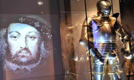 Henry VIII: Dressed to Kill exhibition at the Tower of London, Britain - 31 Mar 2009