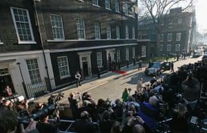 G20 Summit: Barack Obama arrives in Downing Street