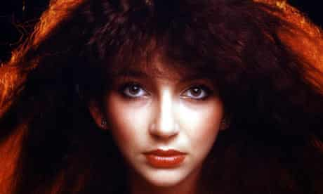 Kate Bush, featured in BBC1's Queens of British Pop