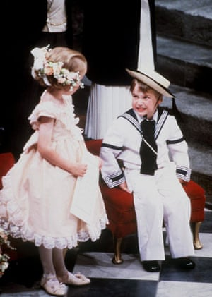 Prince William and Harry: Prince William at the Wedding of Prince Andrew and Sarah Ferguson