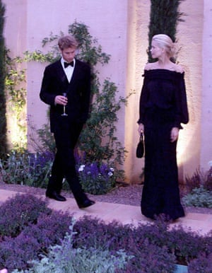Prince William and Harry: Prince William and supermodel Claudia Schiffer