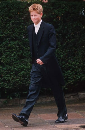 Prince William and Harry: Prince Harry's first day at Eton College