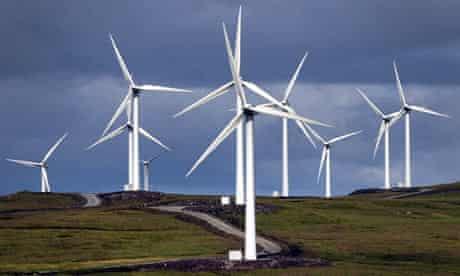 The Beinn An Tuirc Wind Farm