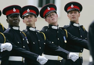 Prince William and Harry: Prince Harry at Sandhurst