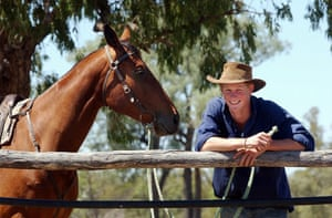 Prince William and Harry: Prince Harry in Queensland