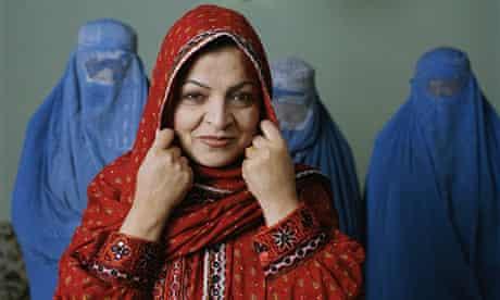 Qudriya Yazdan Parast, an Afghan MP