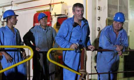 Crew members of the Maersk Alabama