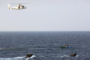 Tanit yacht hijack: Suspected pirates are intercepted by marine commandos from the French Navy