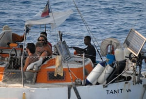 Tanit yacht hijack: Pirates and hostages on the yacht the Tanit