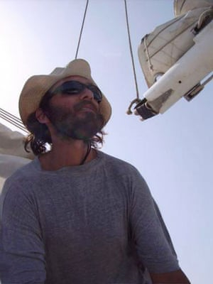 Tanit yacht hijack: Florent Lemacon, skipper and owner of the yacht Tanit.