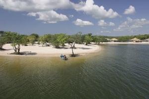 Brazil beaches: Alter do Chao in Brazil