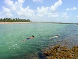 Brazil beaches: Taipus de Fora beach in Brazil