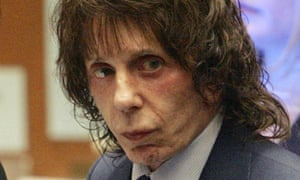 Music producer Phil Spector during his murder trial