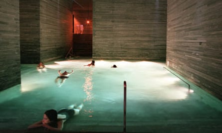 Peter Zumthor's thermal spa