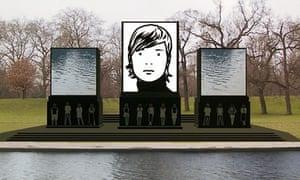 Proposal for the Princess Diana Memorial Fountain