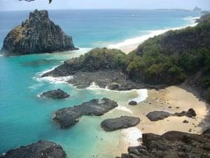 Brazil beaches: Fernando de Noronha beach in Brazil