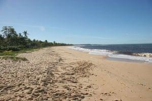 Brazil beaches: Caraiva beach in Brazil