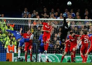 Chelsea v Liverpool: Pepe Reina