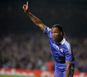 Chelsea v Liverpool: Dider Drogba
