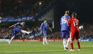 Chelsea v Liverpool: Alex Free Kick
