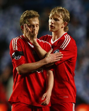 Chelsea v Liverpool: Lucas and Kuyt