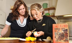 Janine Di Giovanni with her mother-in-law