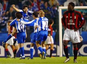 Champions League classics: Deportivo 4-0 Milan (2004)
