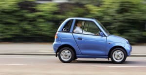 Electric cars: G-Wiz