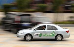 Electric cars: BYD F3DM hybrid car