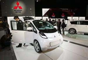 Electric cars: Mitsubishi i-miev