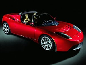 Electric cars: Tesla-roadster