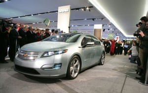 electric cars: The Chevrolet Volt