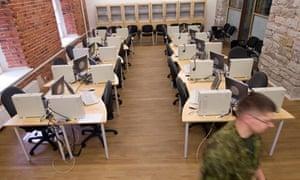 A Nato base in Tallinn, Estonia, established to combat cybercrime