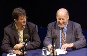 Clement Freud: Clement Freud on just a minute in 2005