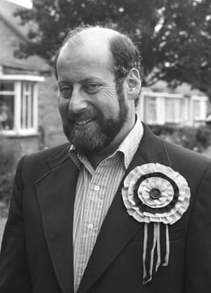 Clement Freud: Sir Clement Freud canvassing in 1973